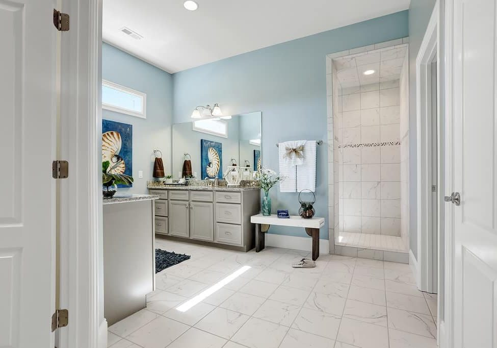 I could not believe how much I loved this master bath